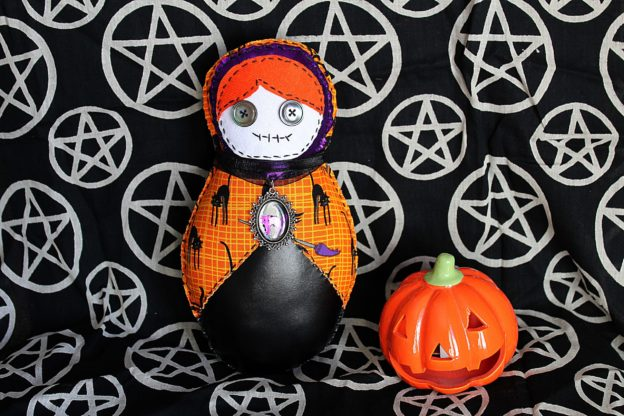Matriochka d'Halloween